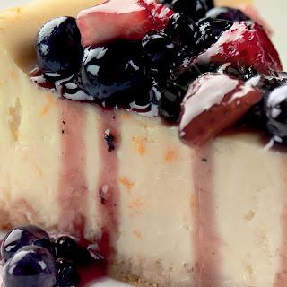 Creamy Vanilla-Orange Cheesecake