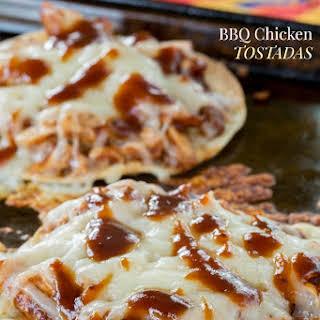 BBQ Chicken Tostadas.