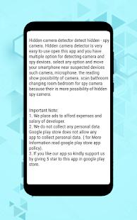 Hidden Camera Detector 2019 Spy camera detector – Apps on
