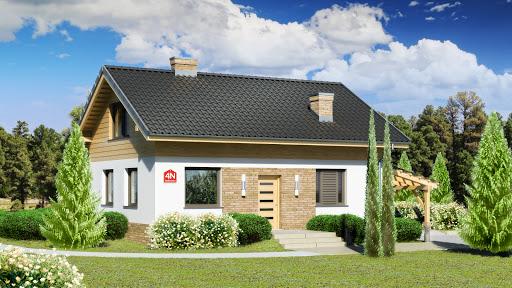 projekt Dom przy Imbirowej 4 N