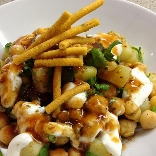 Chana Chaat (Spicy Chickpea Salad)
