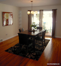 Photo: Dining room after