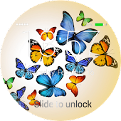 Butterfly Lock Screen