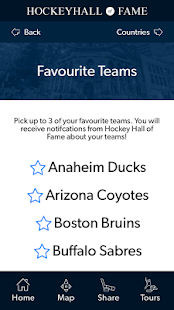Hockey Hall of Fame Tour App- screenshot thumbnail