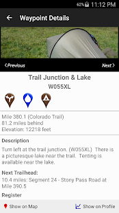 The Colorado Trail Hiker- screenshot thumbnail