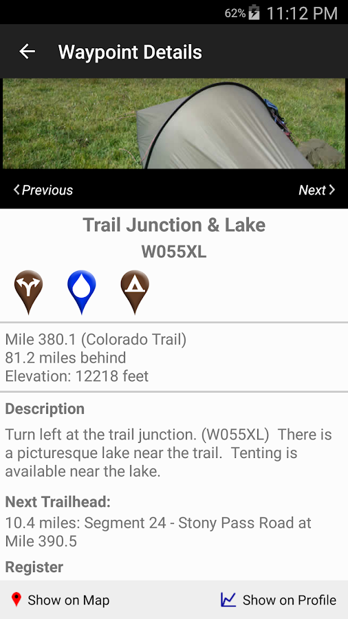 The Colorado Trail Hiker- screenshot