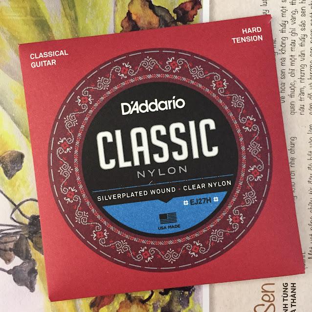 Dây Đàn Guitar Classic - D'Addario EJ27H
