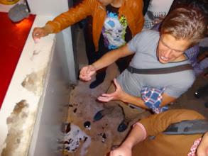 Photo: A když už se tam dostal a koupil si litrovou lahev piva, nečekal, že bude tak těžká a pustil jí hned před barem na zem. Já se bavil.