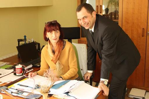Rechtsanwältin Dagmar Hopp und ihr polnischer Kanzleipartner Dr. Marek Bialkowski. Foto: ASC