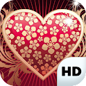 Valentine Live Wallpapers HD icon