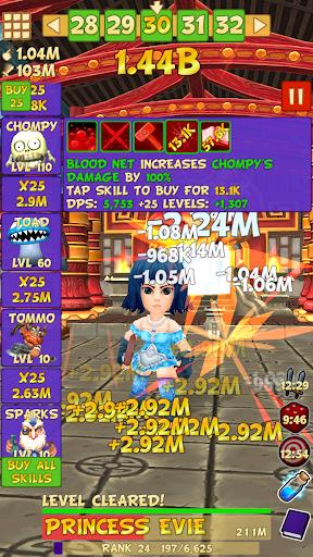 Tap Tap Infinity - Idle RPG 1.7.14 screenshots 3