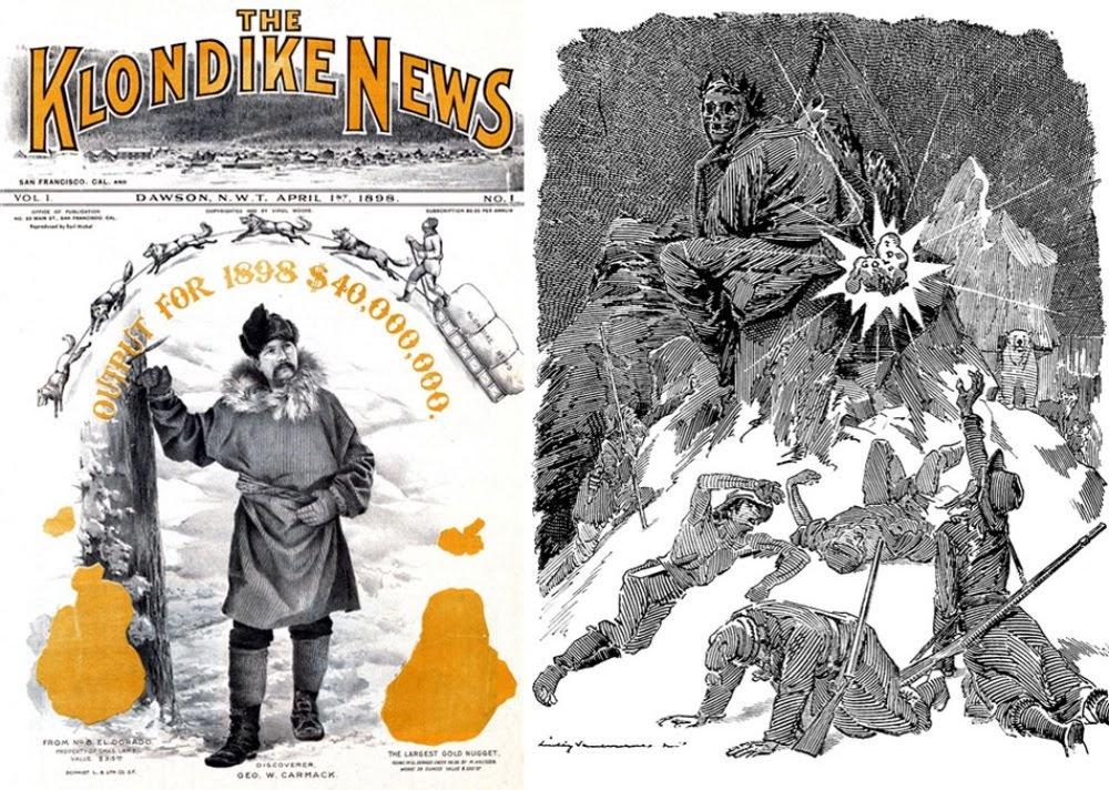A grande corrida do ouro de Klondike