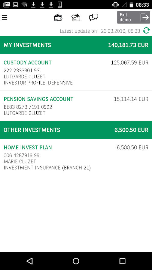 Easy Banking- screenshot