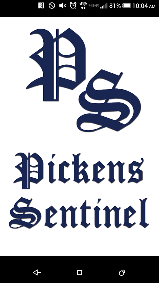 The Pickens Sentinel- screenshot