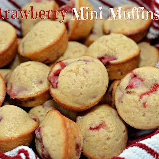Strawberry Mini Muffins.