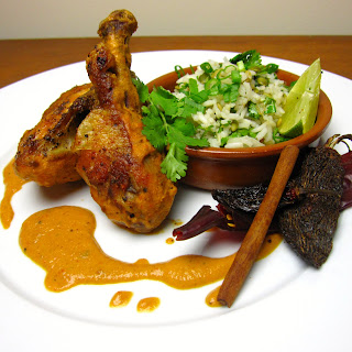 CHICKEN WITH PEANUT SALSA (Pollo en Salsa de Cacahuate)