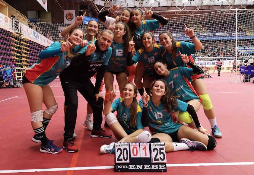 Las juveniles de Fortu campeonas de España.