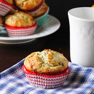 Healthier Lemon Chia Seed Muffins.