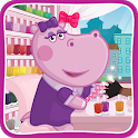 Hippo's Nail Salon: Manicure for girls icon