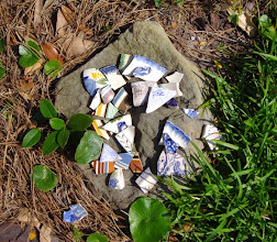 Photo: Old pottery shards found in town...