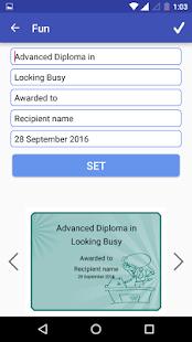 Certificate Maker Creator Mod
