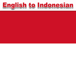 Indonesian English Translator 1.0