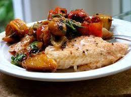 Fruited Trout Almondine Recipe