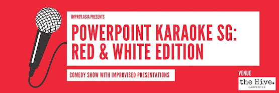 PowerPoint Karaoke Singapore: Red & White Edition