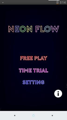 Neon Flow Free