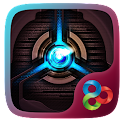 Blue Fire Go Launcher Theme icon