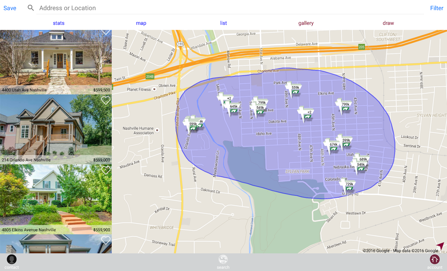 Zeitlin Realtors- screenshot