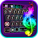 Neon Music Dj 2 Keyboard Theme icon
