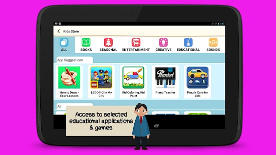 WeAreFamily Kids tablet- screenshot thumbnail