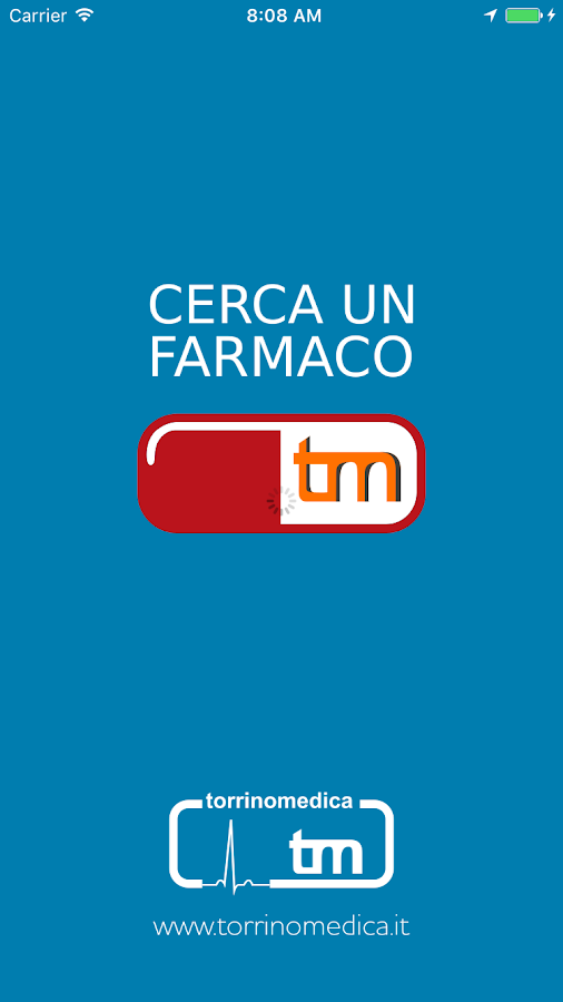 CercaUnFarmaco- screenshot