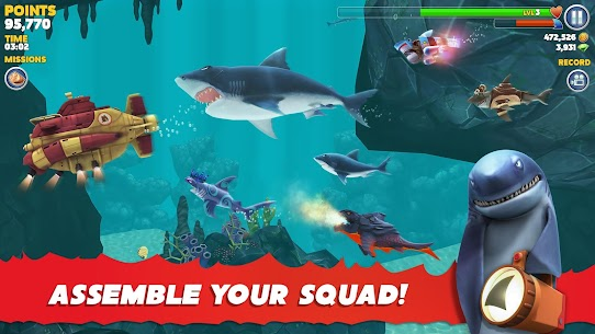 Hungry Shark Evolution Mod Apk 8.0.4 (Unlimited Money Coins + Dimond) 7