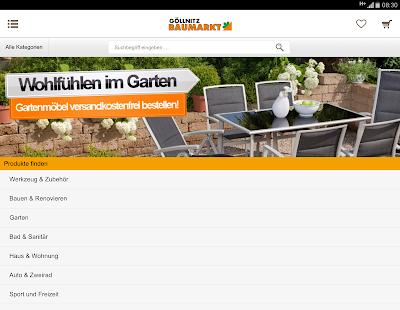 baumarkt g llnitz shop android apps on google play. Black Bedroom Furniture Sets. Home Design Ideas