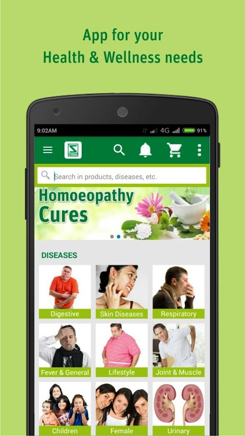 Schwabe India - Homeopathy- screenshot
