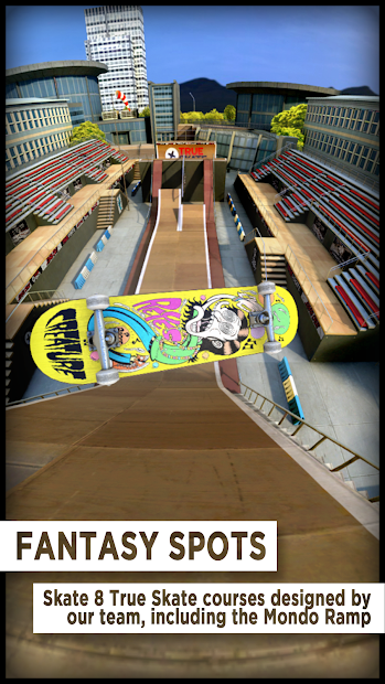 True Skate Android App Screenshot