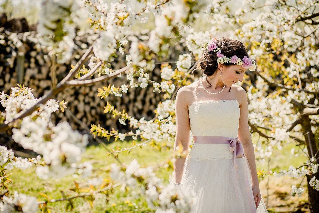 Blossom styled wedding shoot