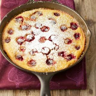 Cherry Clafoutis (Gluten-free, Grain-free)