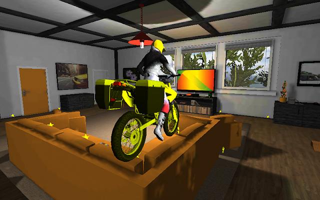 Office Bike Driving 3D - screenshot