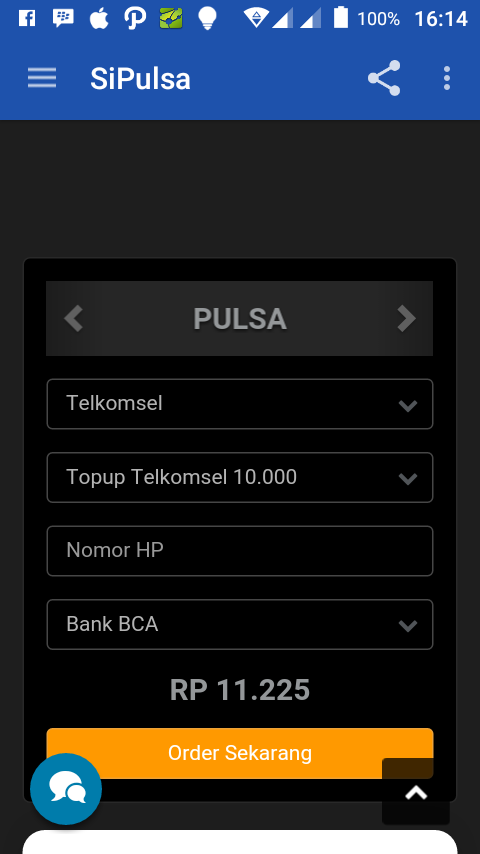 SiPulsa- screenshot