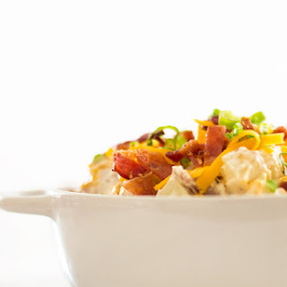 Loaded Baked Potato Salad With Yogurt
