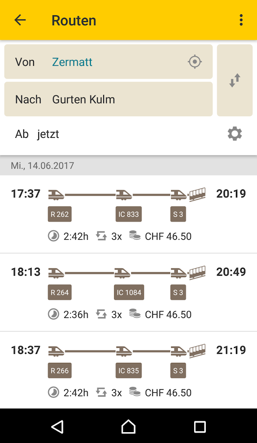 PostAuto - Fahrplan & Tickets – Screenshot