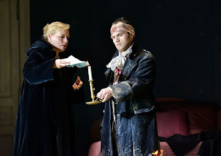 Photo: Theater an der Wien: La mère coupable Oper in drei Akten von Darius Milhaud . Premiere am 8.5.2015 Mireille Delunsch, , Andrew Owens. Copyright: Barbara Zeininger