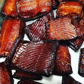Dry Brine for Smoking Salmon.