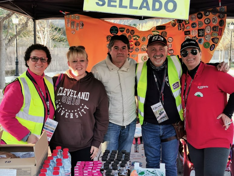 Don Paco y Luisi fueron importantes para llevar a cabo el evento.