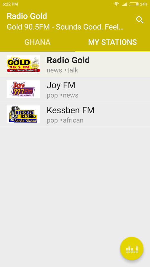 Online Radio Ghana- screenshot
