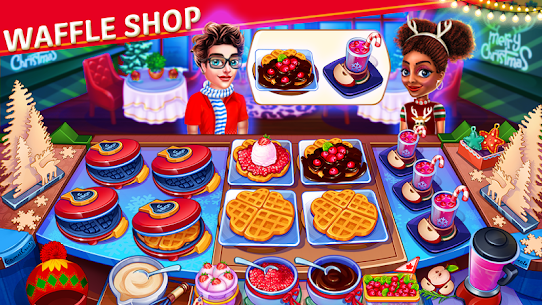 Christmas Cooking: Crazy Restaurant Mod Apk (Unlimited Money) 1