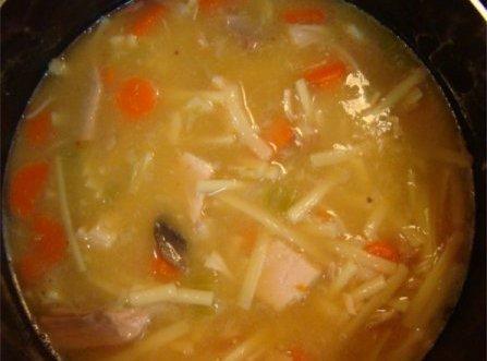 Build Your Own Turkey Noodle Soup Recipe